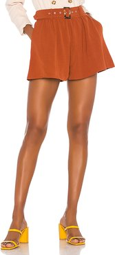 Mae Short in Brown. - size XL (also in L,S,XS)