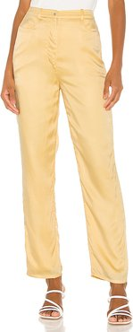 Elise Pant in Yellow. - size S (also in L,M,XL,XS,XXS)