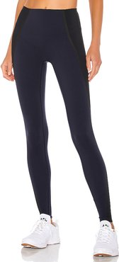Mesh Contour Legging in Navy. - size M (also in S,L)