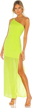 Camille Maxi Dress in Green. - size S (also in XS,XXS)