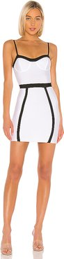 Tracey Bodycon Cami Dress in White. - size S (also in XS)