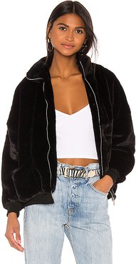 x Draya Michele Camilla Oversized Jacket in Black. - size S (also in L)