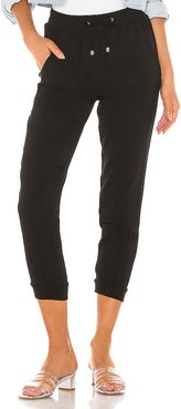 Kimber Jogger Pant in Black. - size S (also in M)