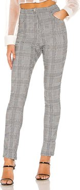 Maxyn High Waisted Pant in Gray. - size S (also in L,M,XS,XXS)