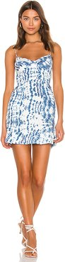 Hailey Mini Dress in Blue. - size 8 (also in 4,6)