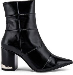 Pointed Toe Bootie in Black. - size 36 (also in 37,40)