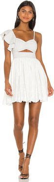 Allanis Mini Dress in Ivory. - size M (also in L,S,XS,XXS)