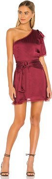 Fia Dress in Wine. - size XS (also in XXS)