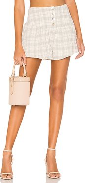 Alanis Short in White. - size XS (also in S)