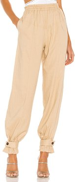 West Pant in Tan. - size M (also in XXS,XS,S,L)