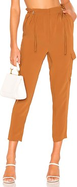 Rosemary Pants in Burnt Orange. - size L (also in M,XL)