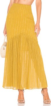 Cameron Skirt in Yellow. - size XXS (also in L,M,XL)