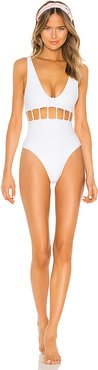 Cristobal One Piece in White. - size XS (also in M)