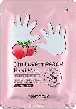 I'm Lovely Peach Hand Mask in Beauty: NA.