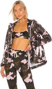 Forest Camo Ash Jacket in Pink. - size XS (also in S)