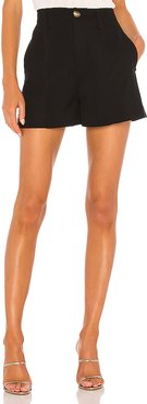 High Rise Short in Black. - size 6 (also in 0,10,2,4,8)