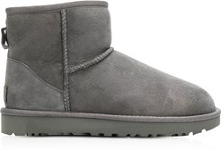 Designer Shoes, Grey Classic Mini II Boots