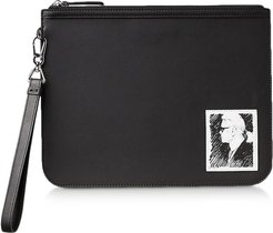 Designer Handbags, Karl Legend Essential Clutch