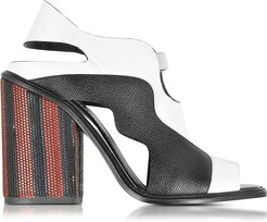 Designer Shoes, Color Block High Heel Sandal