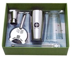 Kitchen & Dining Il Bar Alessi - Stainless Steel Bar Set