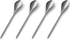 Designer Kitchen & Dining, E-Li-Li - Set of 4 Stainless Steel Coffee Spoons