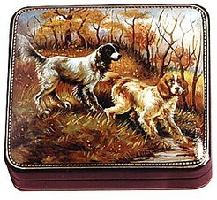 Designer Jewelry Boxes, Setters - Oil on Leather Jewelry Box
