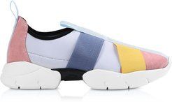 Designer Shoes, Multicolor Leather Signature Slip on Sneakers