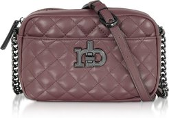 Designer Handbags, RB Releve Quilted Eco Leather Camera Bag
