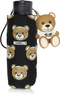 Designer Umbrellas, Brush Bear All-Over Print Super Mini Umbrella