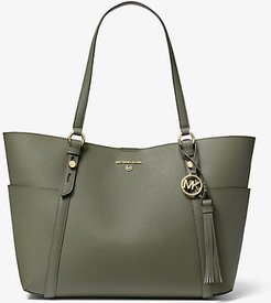 Nomad Large Saffiano Leather Tote Bag