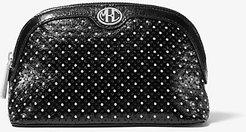 Monogramme Studded Leather Travel Pouch