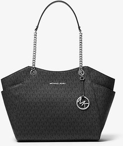 Jet Set Large Logo Tote