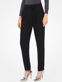 Cady Pleated Trousers