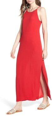 Maxi Dress, Size X-Small - Red
