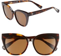 Blanc & Eclare Monaco 54Mm Cat Eye Sunglasses -