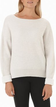 Wool & Cashmere Pullover Sweater
