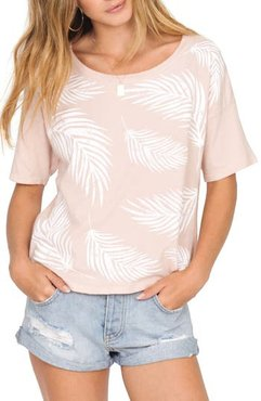 Roll With It Tee, Size Medium - Pink