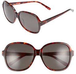 Blanc & Eclare Beijing 61Mm Polarized Sunglasses - Tortoise