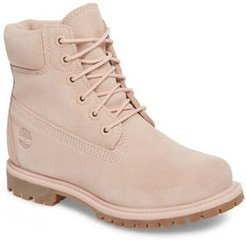 6 Inch Boot, Size 7.5 M - Pink