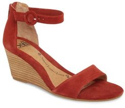 Marla Wedge Sandal, Size 6 M - Red