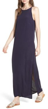 Maxi Dress, Size Medium - Blue