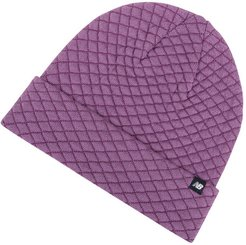 & Women's Warm Up Knit Beanie - Purple (LAH93007KPL)