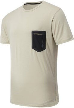 03173 Men's Fortitech Pocket Tee - Tan (MT03173GOK)