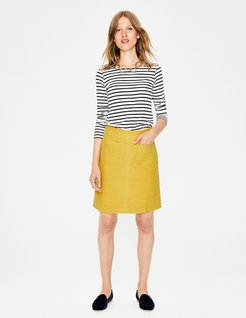 Dorchester Skirt Hot Mustard Women Boden