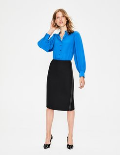 Winsford Pencil Skirt Black Women Boden