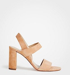 Lorna Suede Sandals