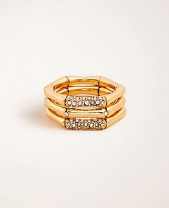 Bamboo Stackable Ring Set