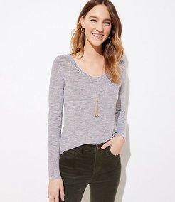 Striped Vintage Soft Layering Tee