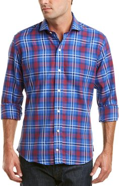 Ledbury The elmsmere Plaid Slim Fit Woven Shirt