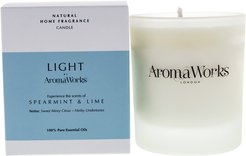 Aromaworks 7.76oz Spearmint and Lime Light Candle